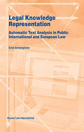 Legal Knowledge Representation, Automatic Text Analysis In Public