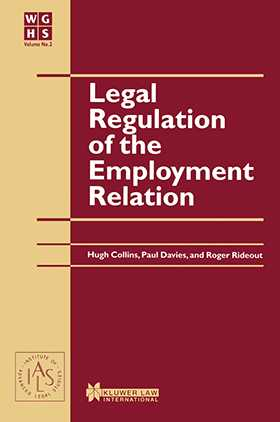 Legal Regulation of the Employment Relation