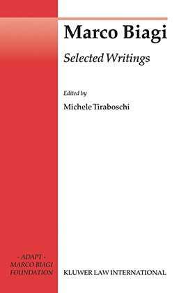 Marco Biagi Selected Writings