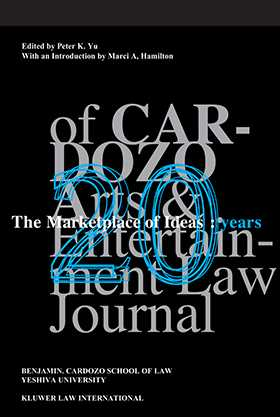 The Marketplace of Ideas: 20 Years of Cardozo Arts and Entertainment Law Journal