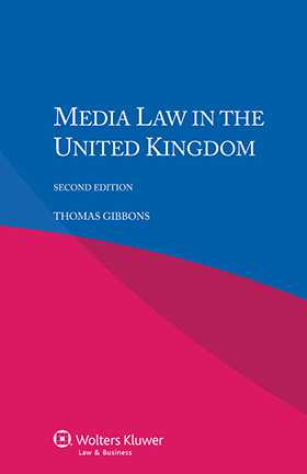 Media Law in the United Kingdom - Second Edition