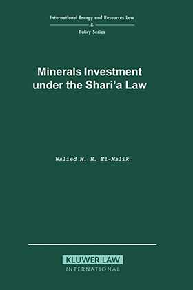 Minerals Investment under the Shari'a Law