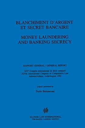 Money Laundering And Banking Secrecy
