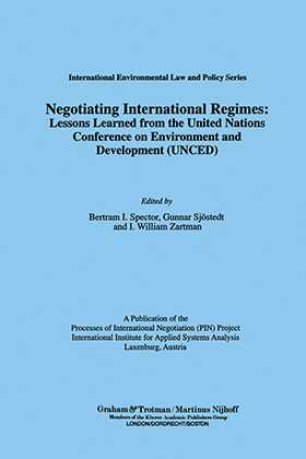 Negotiating International Regimes