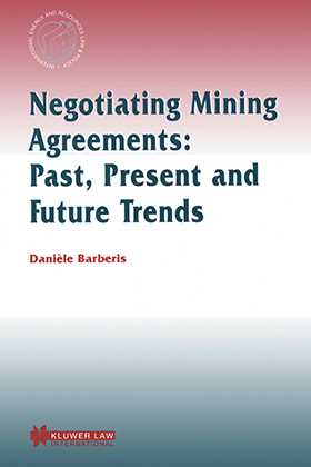 Negotiating Mining Agreements: Past Present & Future Trends
