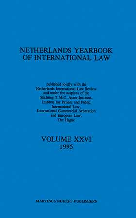 Netherlands Yearbook of International Law, 1995, Vol XXVI