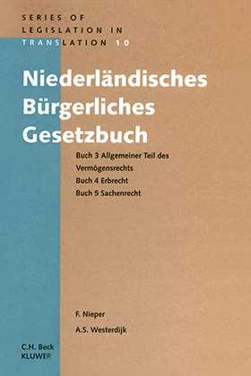 Niederlandisches Burgerliches Gesetzbuch, Buch 3 Allgemeiner Teil