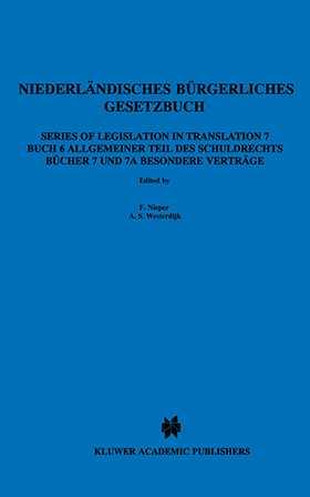 Niederlandishes Burgerliches Gesetzbuch, Buch 6 Allgemeiner Teil
