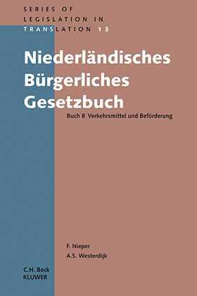Niederländisches Burgerliches Gesetzbuch Buch 8 by NIEPER