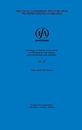 IFA: Practical Experience with the OECD Transfer Pricing Guidelines