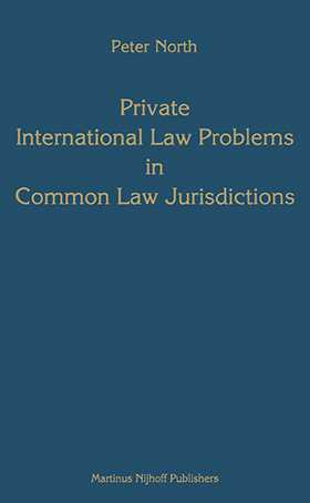 Private International Law Problems in Common Law Jurisdictions