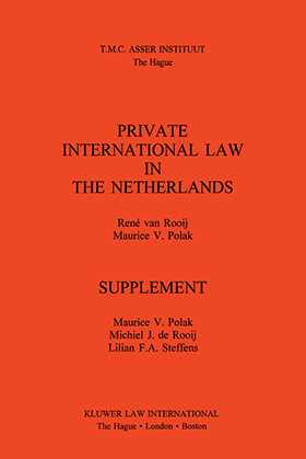 Private Intl Law In The Netherlands