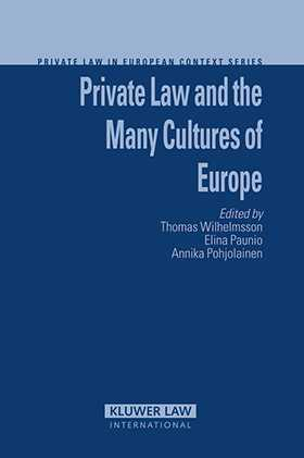 Private Law and the Many Cultures of Europe by