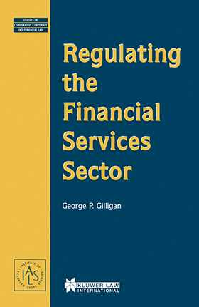 Regulating the Financial Services Sector