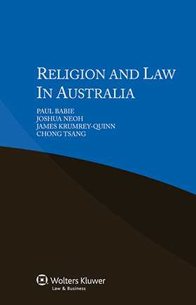 Religion and Law in Australia