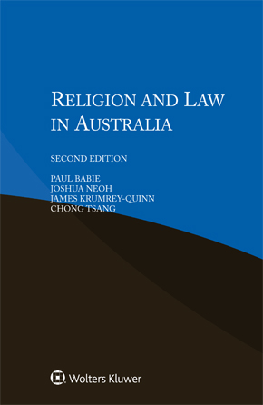 Religion and Law in Australia,  Second edition by BABIE