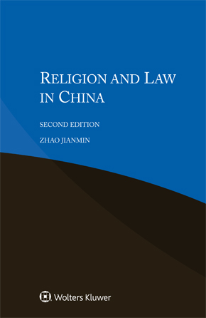 Religion and Law in China,  Second edition by ZHAO
