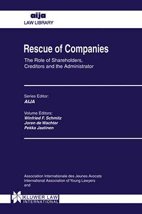 Rescue Of Companies, The Role Of Shareholders, Creditors