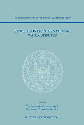 Resolution of International Water Disputes