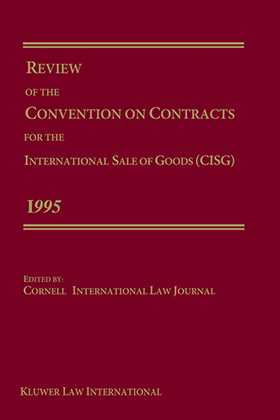Review Of The Convention For The International Sale Of Goods 1995