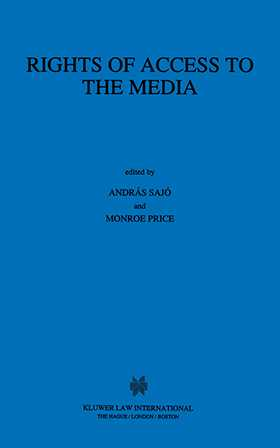 Rights Of Access To The Media