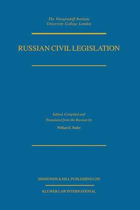 Russian Civil Legislation, The Civil Code (Parts 1 & 2) & Other S