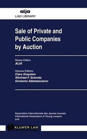 Sale Of Private & Public Companies By Auction