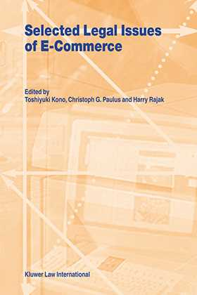 Selected Legal Issues of E-Commerce