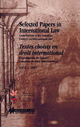 Selected Papers In International Law