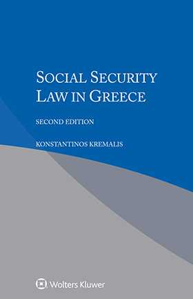 Social Security Law in Greece, Second Edition