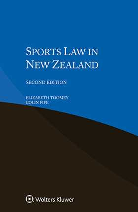 Sports Law in New Zealand, Second Edition