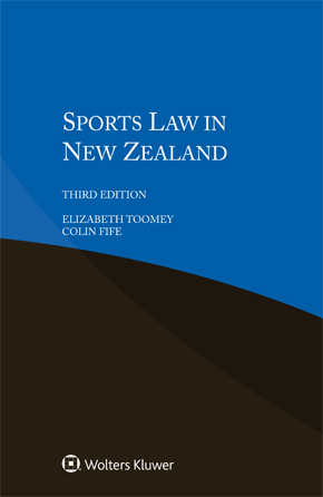 Sports Law in New Zealand, Third edition by TOOMEY