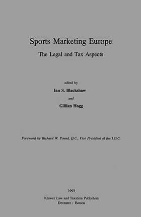 Sports Marketing In Europe - The Legal And Tax Aspects
