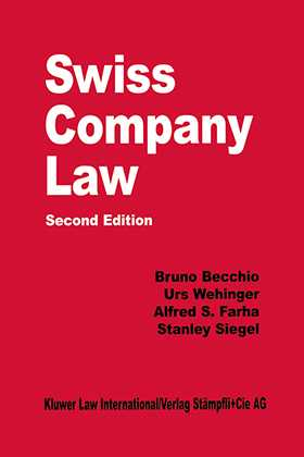 Swiss Company Law, Second Edition