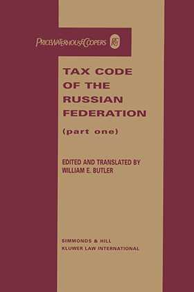 Tax Code of the Russian Federation, Part One