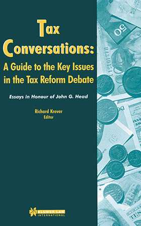 Tax Conversations: A Guide To The Key Issues In The Tax Reform De