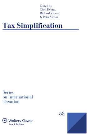 Tax Simplification by Chris Evans, Richard Krever