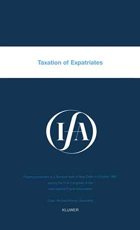 IFA: Taxation of Expatriates
