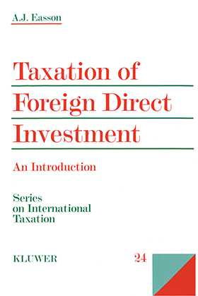 Taxation Of Foreign Direct Investment, An Introduction