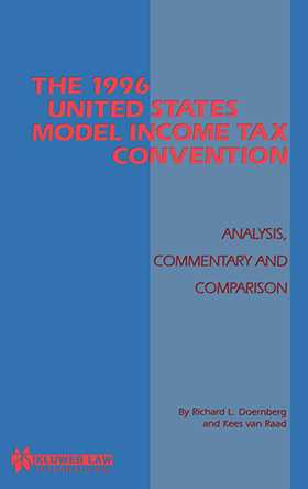 The 1996 Us Model Income Tax Convention, Analysis, Commentary