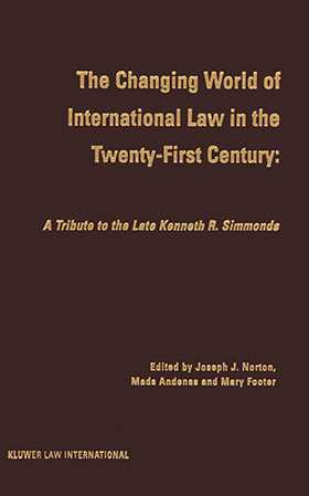 The Changing World Of International Law In The Twenty-First