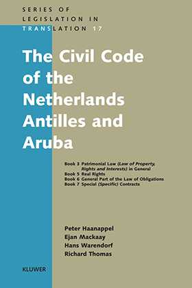 The Civil Code of the Netherlands Antilles and Aruba by Peter P.C. Haanappel, Richard Thomas