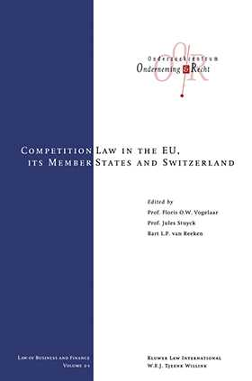 The Competition Laws of the EU Member States and Switzerland, Vol 1