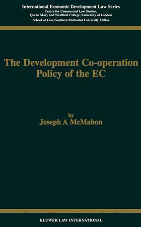 The Development Cooperation Policy of the EC