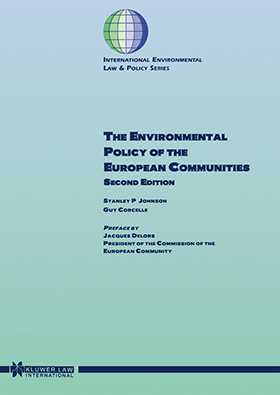 The Environmental Policy Of The European Communities, 2ed