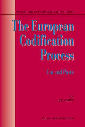The European Codification Process: Cut and Paste by