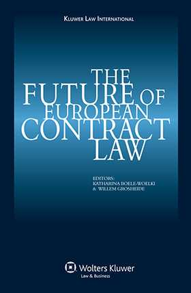 The Future of European Contract Law by