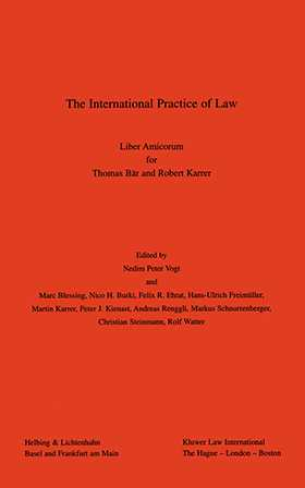 The International Practice of Law