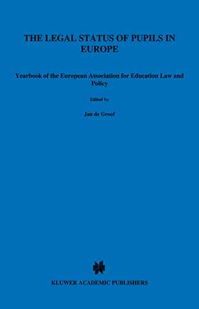 The Legal Status of Pupils in Europe by DE GROOF