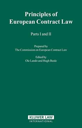 The Principles of European Contract Law, Parts I & II